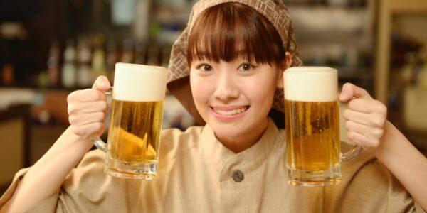 生ビール始めました。